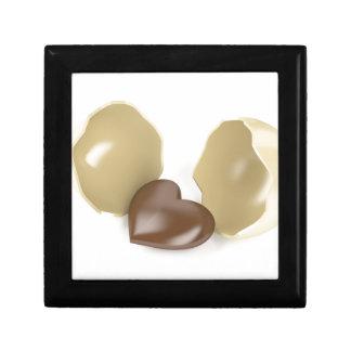 Joyero Corazón del chocolate