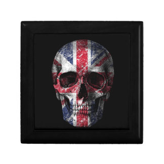 Joyero Cráneo BRITÁNICO de la bandera