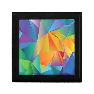 Joyero cristal coloreado