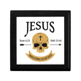 Joyero Cristiano de la vida eterna del cráneo de Jesús