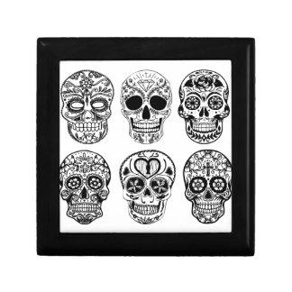 Joyero Dia de los Muertos Skulls (día de los muertos)