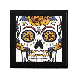 Joyero Día mexicano del cráneo de los muertos