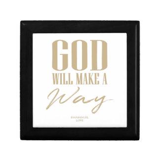 Joyero Dios hará una manera