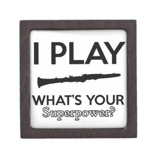 Joyero diseños del clarinet