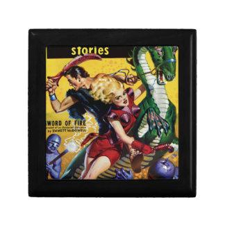 Joyero El Blonde heroico monta un dinosaurio