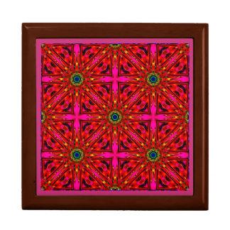 Joyero El ~ rosado y el rojo protagoniza el ~ del fractal