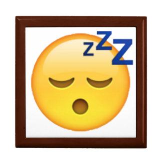 Joyero Emoji - durmiendo