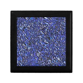 Joyero Extracto de cristal azul