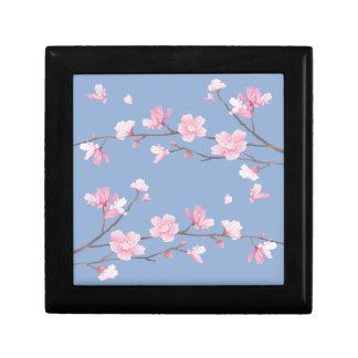 Joyero Flor de cerezo - azul de la serenidad