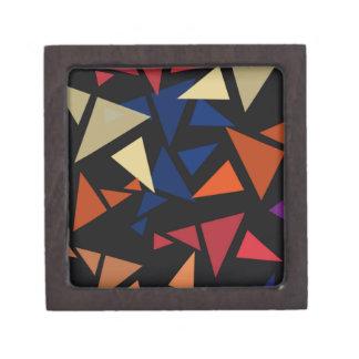 Joyero Formas geométricas coloridas
