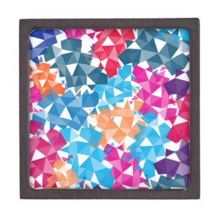 Joyero Formas geométricas coloridas 3D