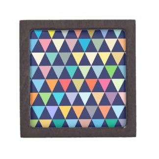 Joyero Geométrico colorido