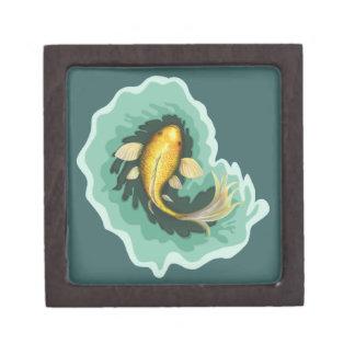 Joyero Goldfish lindo Koi