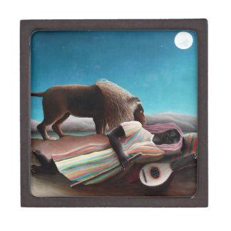 Joyero Henri Rousseau el vintage gitano el dormir