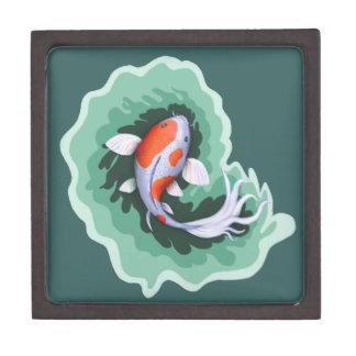Joyero Ilustraciones caprichosas de los pescados