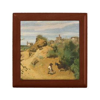 Joyero Jean-Baptiste-Camilo Corot - Genzano