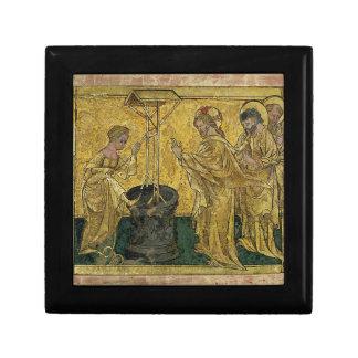Joyero Jesús y la mujer del samaritano en el pozo