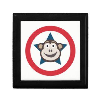 Joyero Joyería del mono/caja de regalo estupendas