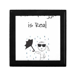 Joyero La lucha del fall del paraguas es real