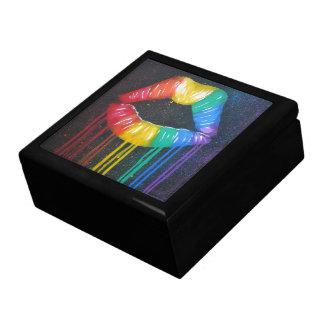 Joyero Labios del arco iris