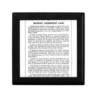 Joyero masoniccard