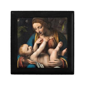 Joyero MED Kristusbarnet de Madonna