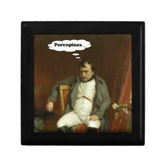 Joyero Napoleon piensa en puercos espines