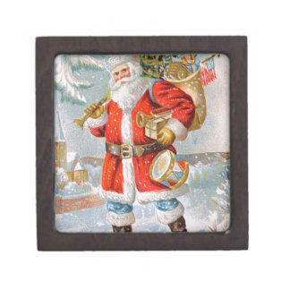 Joyero Navidad patriótico americano magnífico Santa