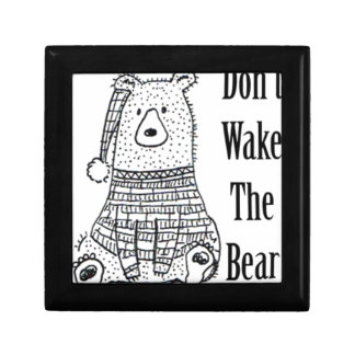 Joyero No despierte el oso