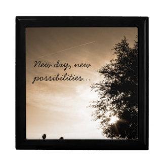 """Joyero """"Nuevo día personalizado, nuevas posibilidades """""""