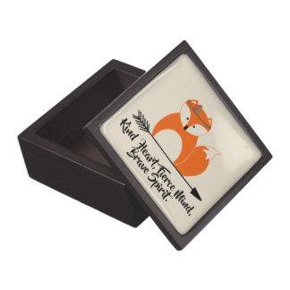 Joyero Pequeño Fox valiente