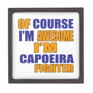 Joyero Por supuesto soy combatiente de Capoeira