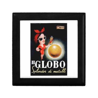 Joyero Poster italiano 1949 de la publicidad de IL Globo