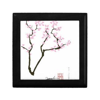 Joyero Sakura afortunado y goldfish rosado, fernandes