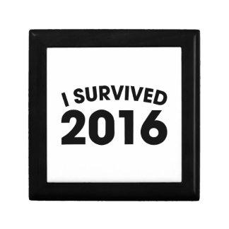 Joyero Sobreviví 2016