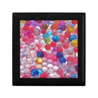Joyero textura de las bolas de la jalea del colore