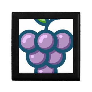 Joyero Uvas púrpuras