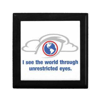 Joyero Veo el mundo a través de ojos sin restricción