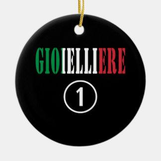 Joyeros italianos: Uno de Gioielliere Numero Ornamento Para Arbol De Navidad