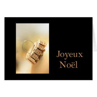 Joyeux Noël - navidad francés - Carte de Noël Felicitación