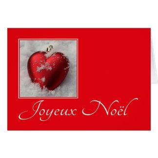 Joyeux Noël - navidad francés - Carte de Noël Tarjetas