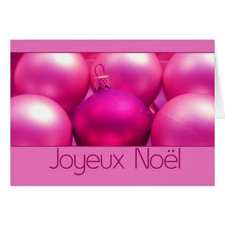 Joyeux Noël - navidad francés - Carte de Noël Felicitaciones