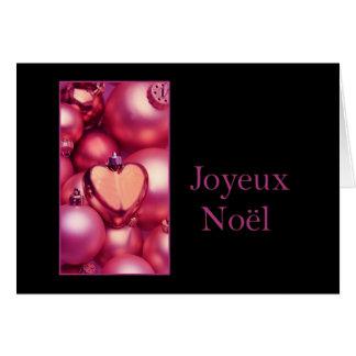 Joyeux Noël - navidad francés - Carte de Noël Felicitacion