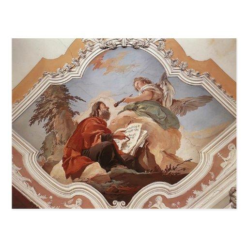Juan Battista Tiepolo: El profeta Isaías Postales