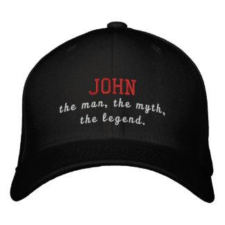 Juan el hombre, el mito, la leyenda gorro bordado
