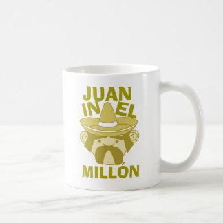 Juan en el EL millón Taza