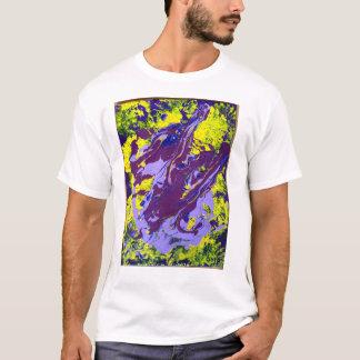 Juan tiene parálisis cerebral y hace arte camiseta