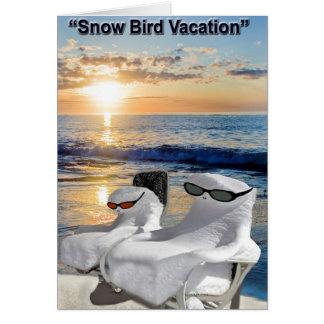 Jubilados de las vacaciones tarjetas