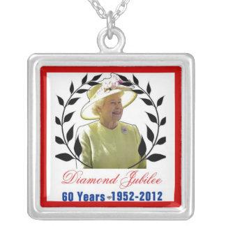 Jubileo de diamante del Queens 60 años de collar