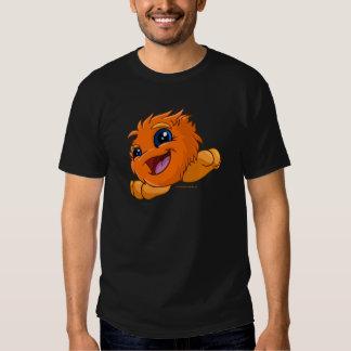 JubJub anaranjado feliz Camisetas